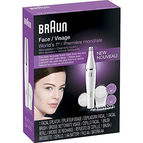 Braun depiladora Facial y limpieza cepillo con cepillo Extra relleno Facial