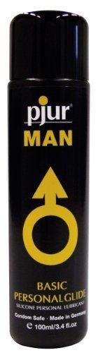 Personal básica del cuerpo del deslizamiento a base de silicona Pjur Man de Libertador