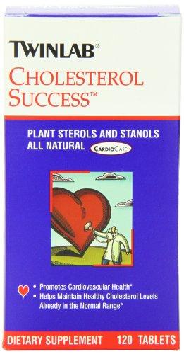 Éxito de Twinlab colesterol 120 comprimidos