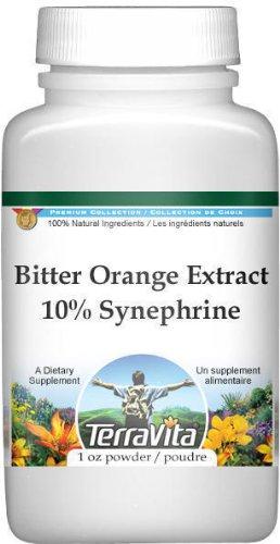 Polvo del extracto de naranja amarga (sinefrina 10%)