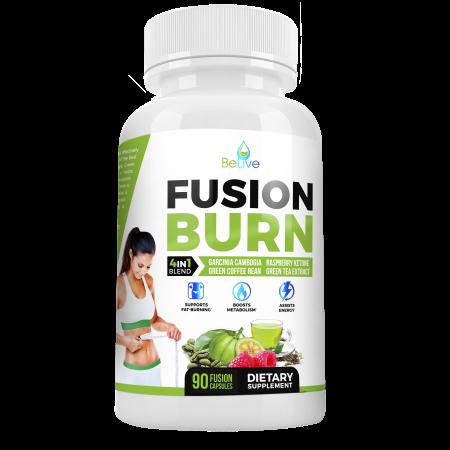 Fusión Burn píldoras de la pérdida de peso termogénico Garcinia cambogia para todos los tipos del cuerpo - Extracto de té v