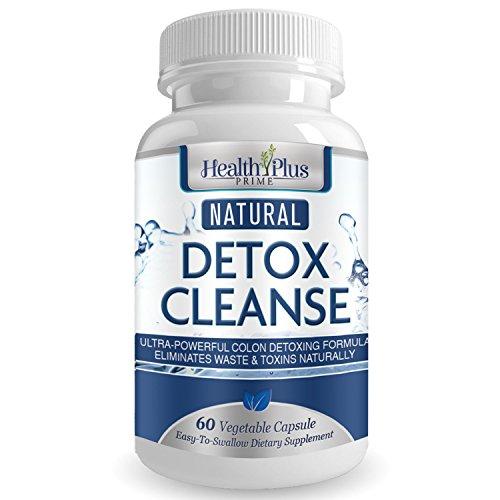 Desintoxicación limpieza seguro y Natural, perfecta combinación para la limpieza y desintoxicación, gran para eliminar toxinas, impurezas y la forma Natural de todos los residuos. 60 cápsulas