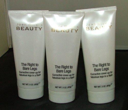 Joan Rivers belleza-el derecho a la corrección de piernas desnudas cubrir para arriba-justo (paquete de 3)