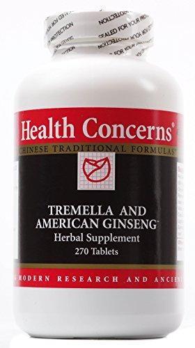 Salud refiere - Tremella y Ginseng americano - 270 tabletas