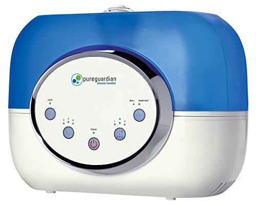 PureGuardian RH4610 120 horas ultrasónico caliente y fresco de la niebla del humidificador, digitales, reacondicionados de fábrica