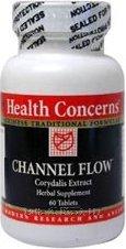 Salud - canal de flujo - 180 comprimidos