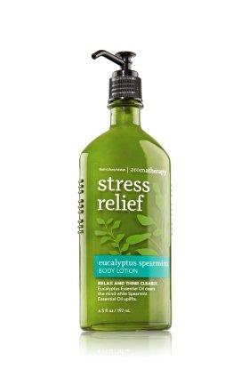 Baño y cuerpo funciona eucalipto menta 6,5 oz loción de aromaterapia