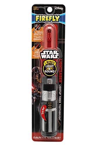Firefly Star Wars Darth Vader sable de luz Light-Up Timer cepillo de dientes