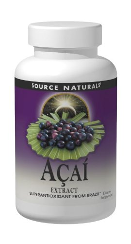 Source Naturals Acai extracto 500mg, 120 cápsulas