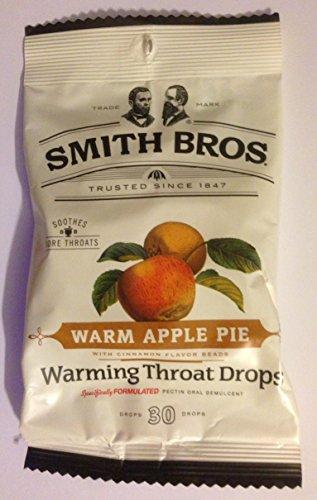 Paquete de pastel de manzana caliente 6 calentamiento garganta gotas 30 gotas = 180 gotas