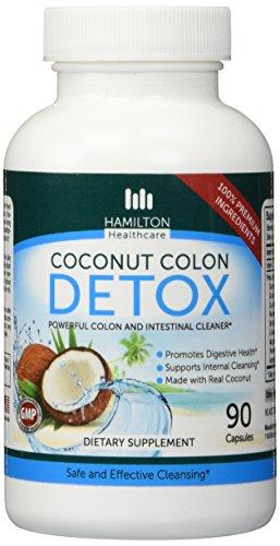 DESINTOXICACIÓN de COLON SUPER coco para limpieza - limpiar tu cuerpo de adentro hacia fuera suave pero eficaz manera para eliminar las toxinas y residuos naturalmente por Hamilton Healthcare