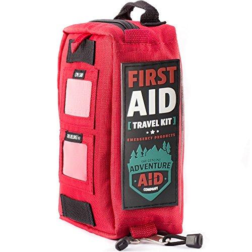 Aventura ayuda Kit de primeros auxilios - este Kit de emergencia incluye suministros médicos 82