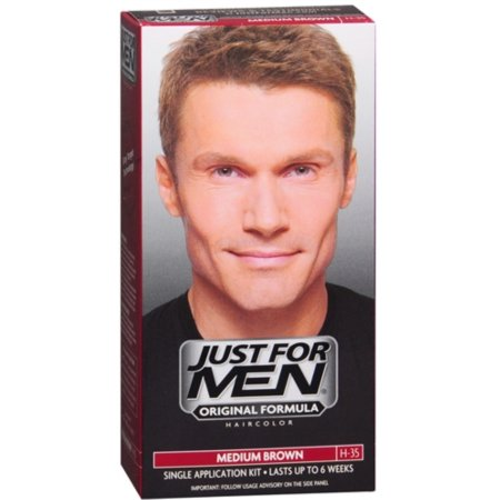 Just For Men Color de pelo Brown medio 35 1 ea (paquete de 6)