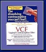 VCF película anticonceptiva Vaginal - 6 Ea