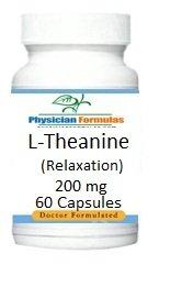L-teanina, 200 mg, 60 cápsulas, relajación y sueño apoyo, formulado por Ray saheliana, MD
