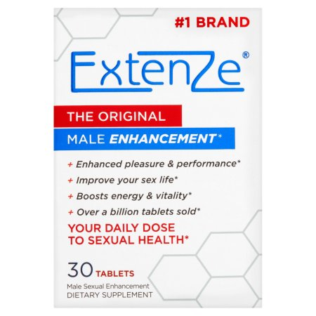 ExtenZe Las originales Aumentador Sexual 30 Tabletas