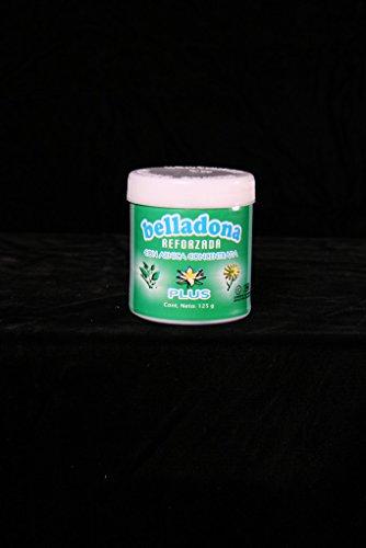 Hormada de belladona ayuda a esguinces, dislocaciones, calambres, Decongestions de los músculos, suaviza los nervios