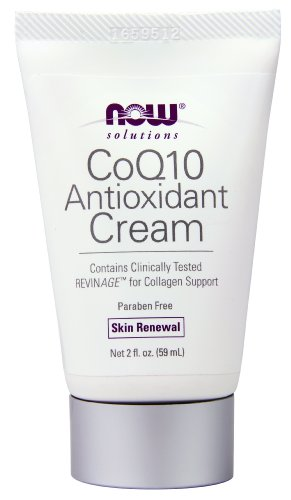 AHORA soluciones CoQ10 crema, renovación de la piel, 2 onzas
