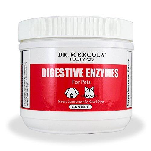 Mercola digestivo enzimas para animales domésticos en polvo - 150 g [5,26 oz]