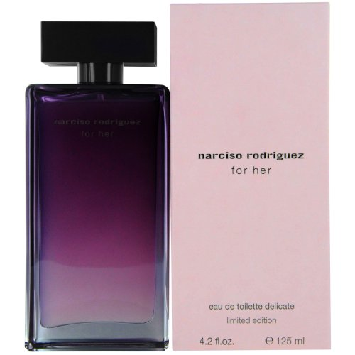 Narciso Rodriguez Limited Edition Eau de Toilette Spray delicado para las mujeres, 4,2 onzas