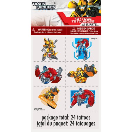 Transformadores tatuajes, 24ct