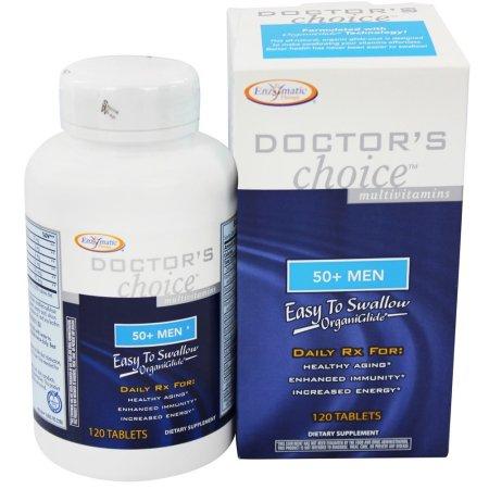 Enzymatic Therapy - Elección de Médico de multivitaminas para los hombres de más de 50 - 120 Tabletas