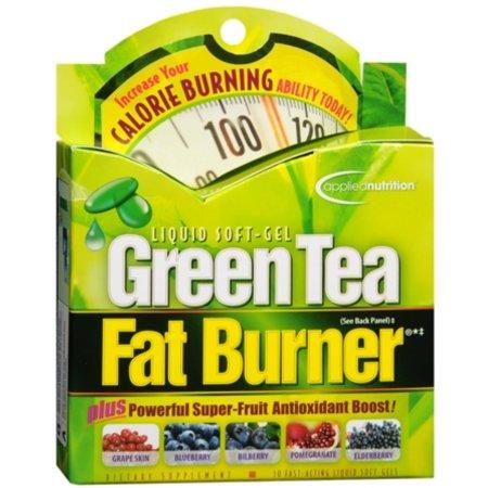 APPLIED NUTRITION té verde quemador de grasa 30 Cápsulas Líquidas x 6 Cajas