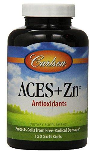 Carlson ases + Zn, 120 cápsulas