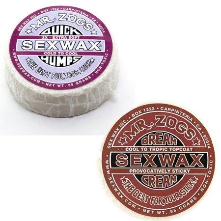 Sex Wax RÁPIDA CHEPAS SURF WAX Pack de 2 2x y crema SUEÑO DE BRONCE