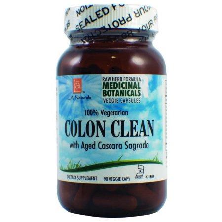 L A Naturals limpieza de colon Raw Fórmula 90 Cápsulas