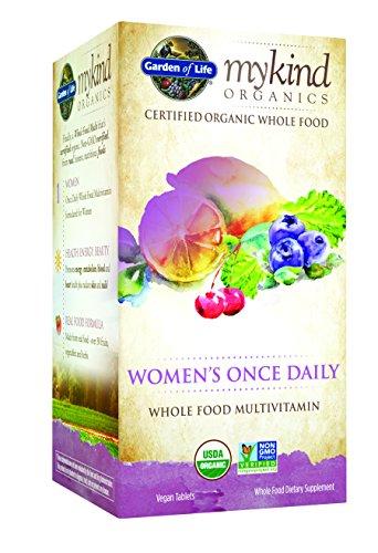 Una vez diario Multi jardín de la vida mykind orgánicos femenino, 60 tableta orgánico