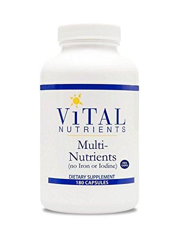 Nutrientes múltiples nutrientes vitales-OTC promueve la función inmune sana, cuenta 180