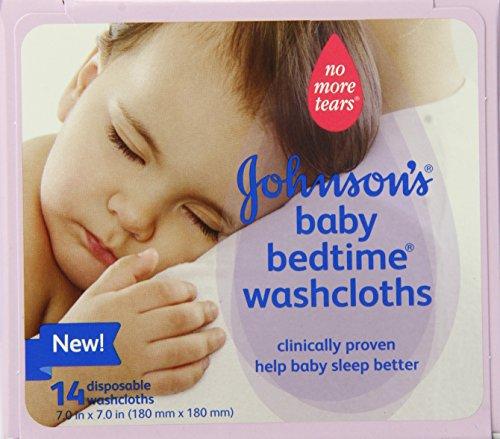 Baby Bedtime paños desechables de Johnson, cuenta 14