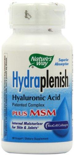 Forma Hydraplenish de la naturaleza con MSM, 60 Vcaps