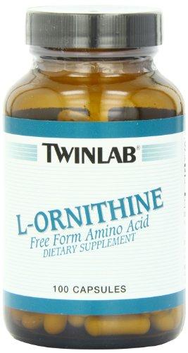 Twinlab L-ornitina 500mg, 100 cápsulas