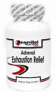 Agotamiento suprarrenal alivio 180 cápsulas ~ Renevitol