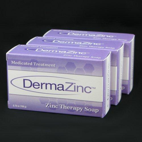DermaZinc Zinc terapia 106g jabón - 3 Pack