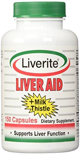 Ayuda de hígado con cardo - 150 cápsulas, Pack 2