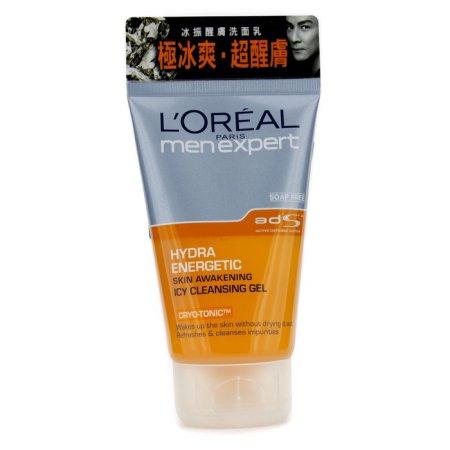 L'Oreal - Men Expert Hydra Energetic Skin Despertar Icy Gel Limpiador - 100ml - 3.4oz