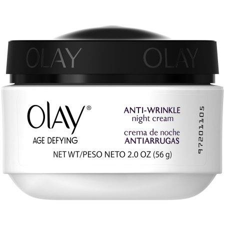 Olay Antienvejecimiento Anti-Arrugas Crema de Noche, 2 oz