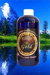 «Elixir de oro» oro coloidal ultra 240 ppm, 8 oz.