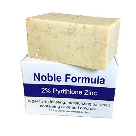 Jabón de 2% de piritiona de zinc (ZnP) Hecho a mano en EE.UU. Bueno en Quitar la Psoriasis 1 jabón