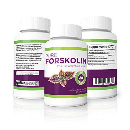 100% puro Forskolin - Maximum Strength quemador de grasa y fortalecer los músculos