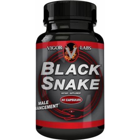 Negro serpiente: Hombre Ampliación Fórmula