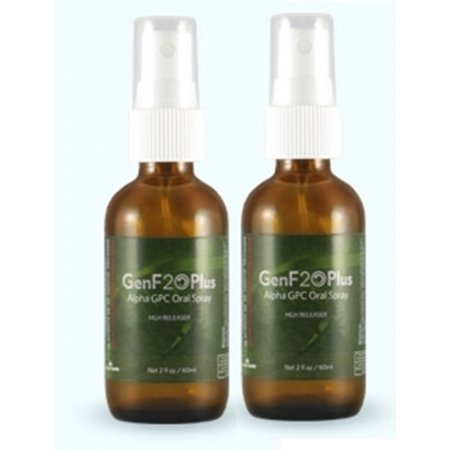 2 GENF20 PLUS botellas de spray bucal de forma natural restauran los niveles de la hormona mejora la energía aspecto juvenil y