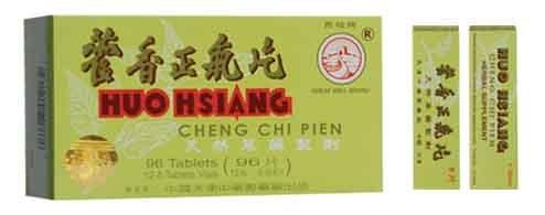Gran muralla marca Huo Hsiang Cheng Chi Pien - 96 Tablet Pack