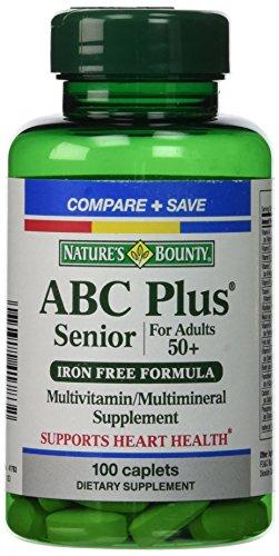 De naturaleza recompensa ABC Plus Senior con luteína y licopeno, 100 comprimidos