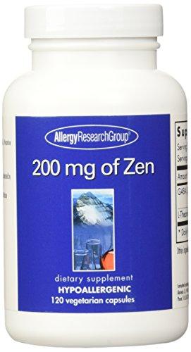 Grupo de investigación de alergia 200 Mg de Zen--120 cápsulas vegetarianas