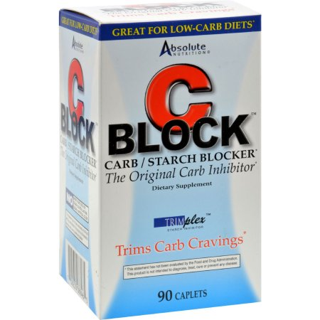 Absolute Nutrition C Bloque Carb y almidón Blocker - 90 Caplets