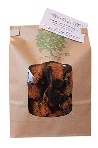 1 libra (16 onzas) trozos pequeños Chaga canadiense cosecha salvaje - solo lo mejor - té seta de Chaga Medicina China
